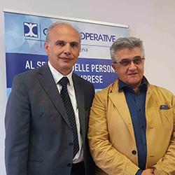Giuseppe Salomoni è il nuovo presidente di Confcooperative-Lavoro e Servizi ER