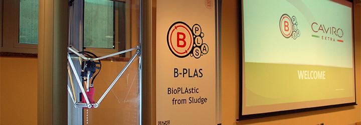 Bioplastica dai fanghi di depurazione: presentato il progetto B-PLAS Demo