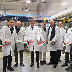 Caviro, inaugurati due nuovi impianti di confezionamento