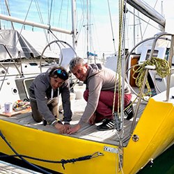 Torna in mare la barca a vela accessibile