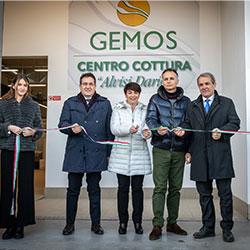 Gemos inaugura un nuovo centro di cottura a Montaletto di Cervia