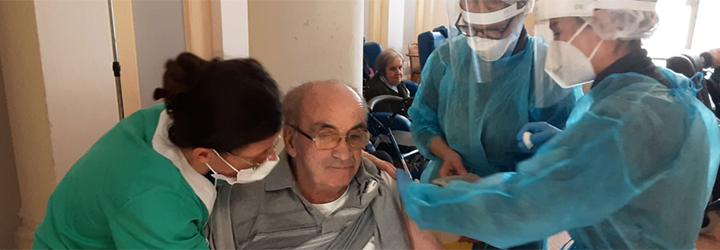 Procede il piano di vaccinazione nelle Cra di Solco Ravenna