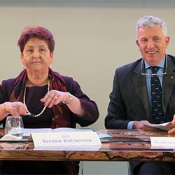 Il Consorzio agricolo festeggia con Teresa Bellanova